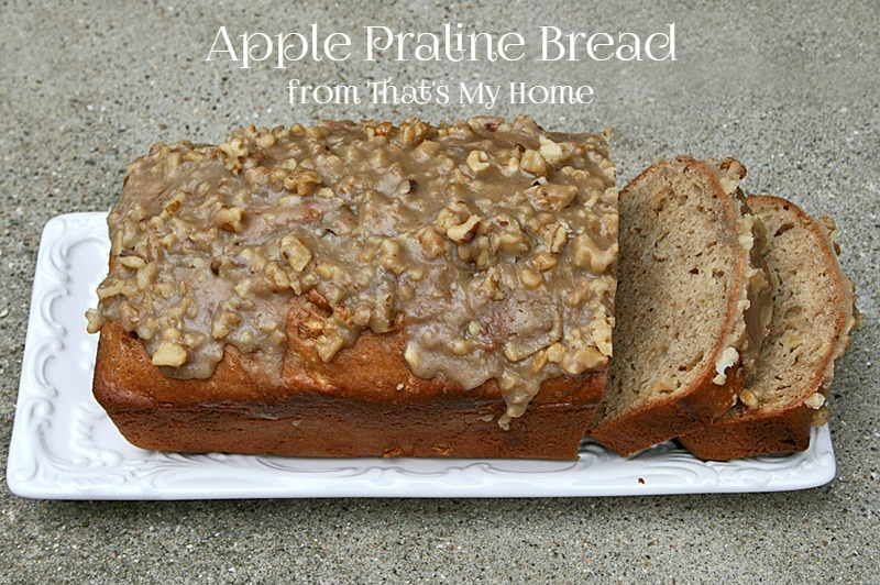 Apple Praline Bread from That's My Home