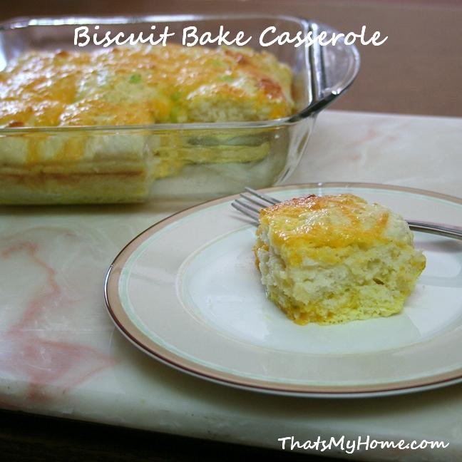 Biscuit Bake Casserole Recipe