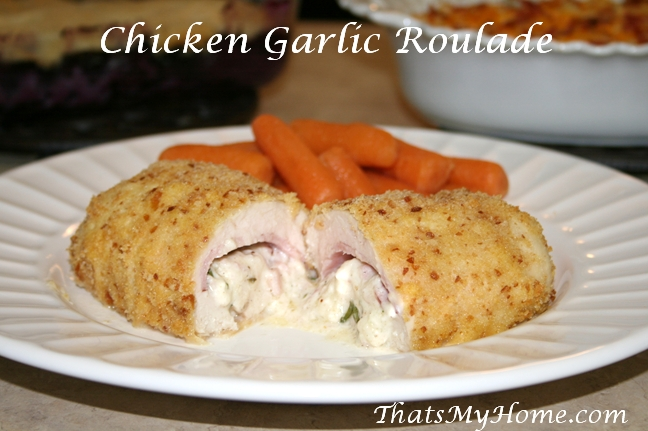 chicken roulade recipe