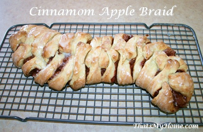cinnamon apple braid recipe