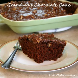 grandmas chocolate cake recipe