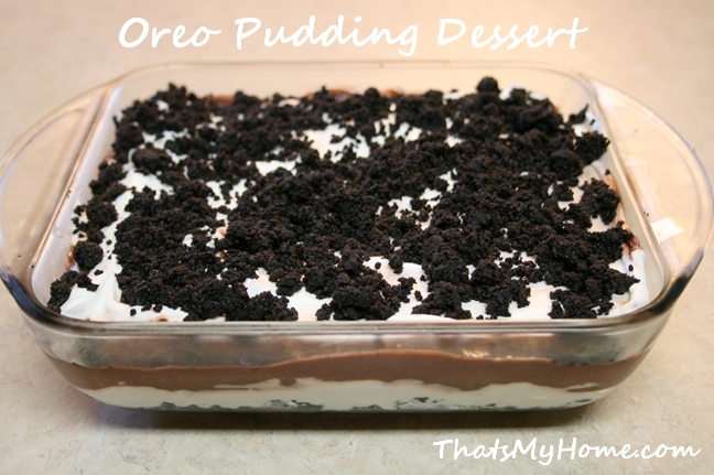 Oreo Dirt Cake Recipe With Vanilla Pudding