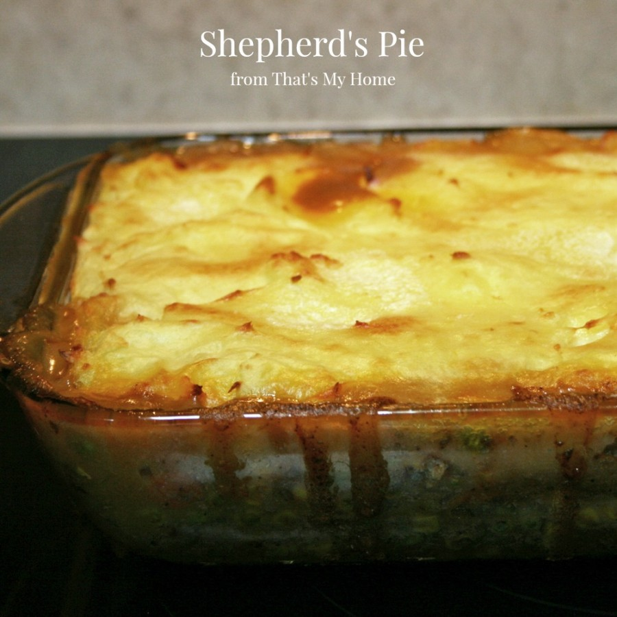 Shepherd's Pie from That's My Home