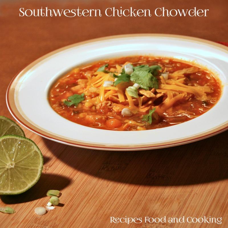 Southwestern Chicken Chowder
