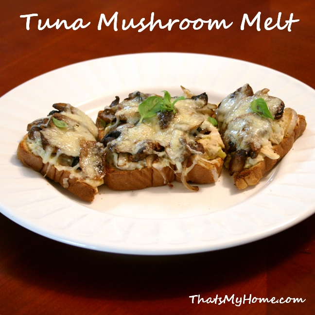 tuna mushroom melt recipe