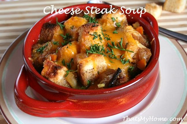Cheese Steak Soup recipe