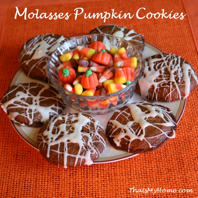 Here is another amazing Molasses Pumpkin Cookie from thatsmyhome.com