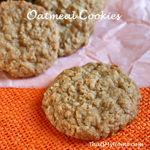 Brown sugar oatmeal cookies recipes food and cooking oatmeal cookies recipe forumfinder Images