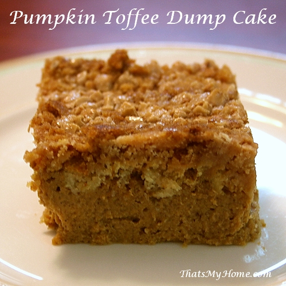 Apple Pumpkin Dump Cake