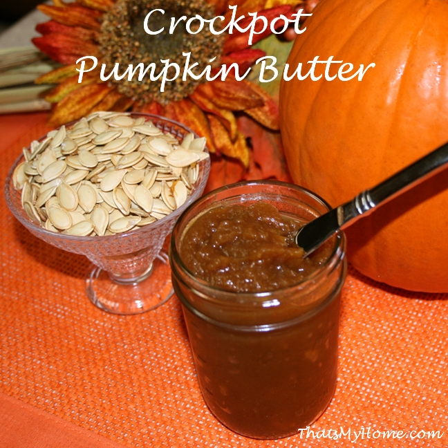 crockpot pumpkin butter