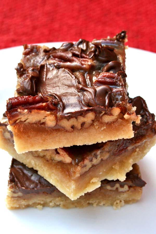 Pecan Turtle Bars - Recipes Food and Cooking