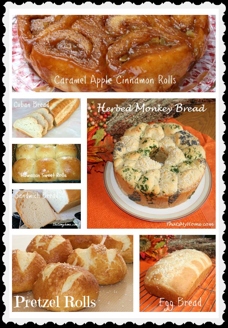 bread recipe round up