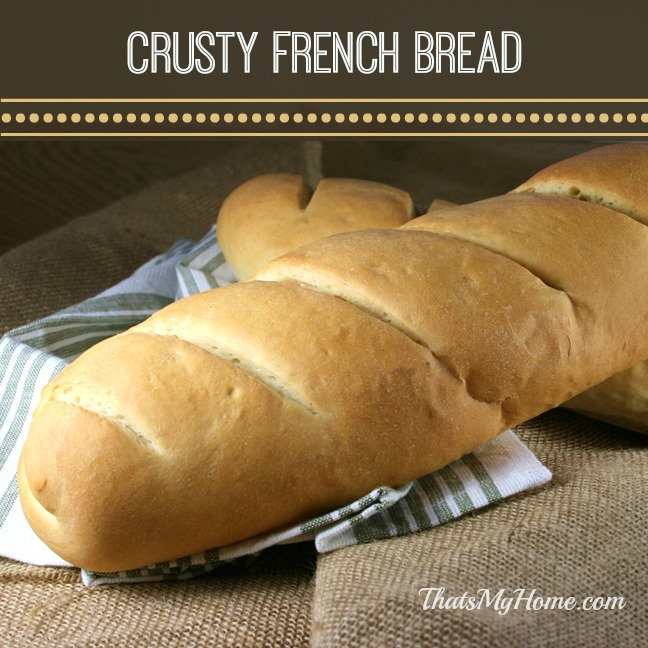 french bread recipe from recipesfoodandcooking.com