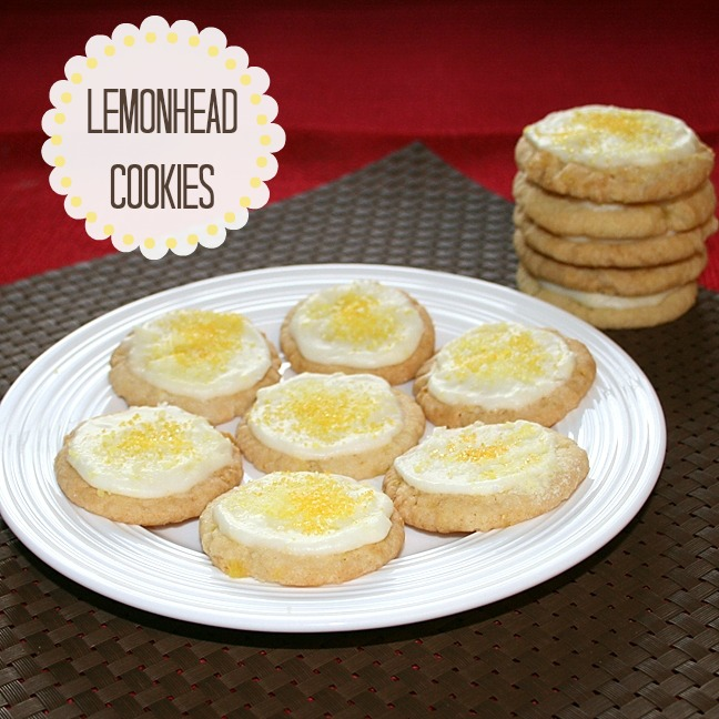 Lemonhead Cookies from recipesfoodandcooking.com