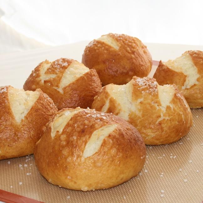 pretzel rolls recipe
