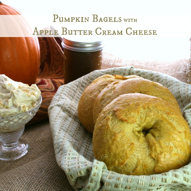 pumpkin bagels recipe