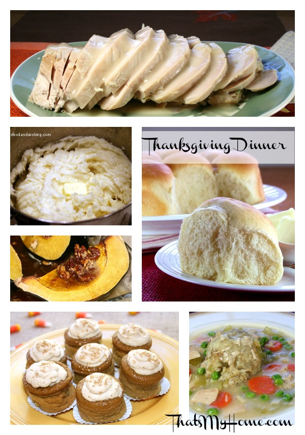 thanksgiving dinner for the new cook from recipes food and cooking.com