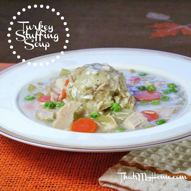 Turkey Stuffing Soup