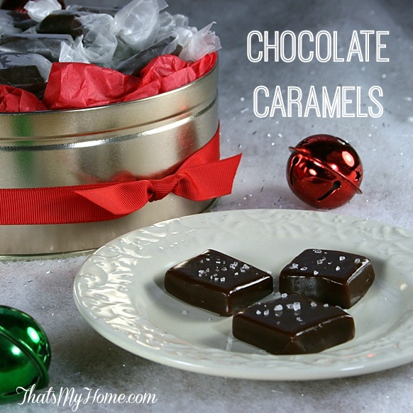 24 Candy Ideas:Chocolate Caramels