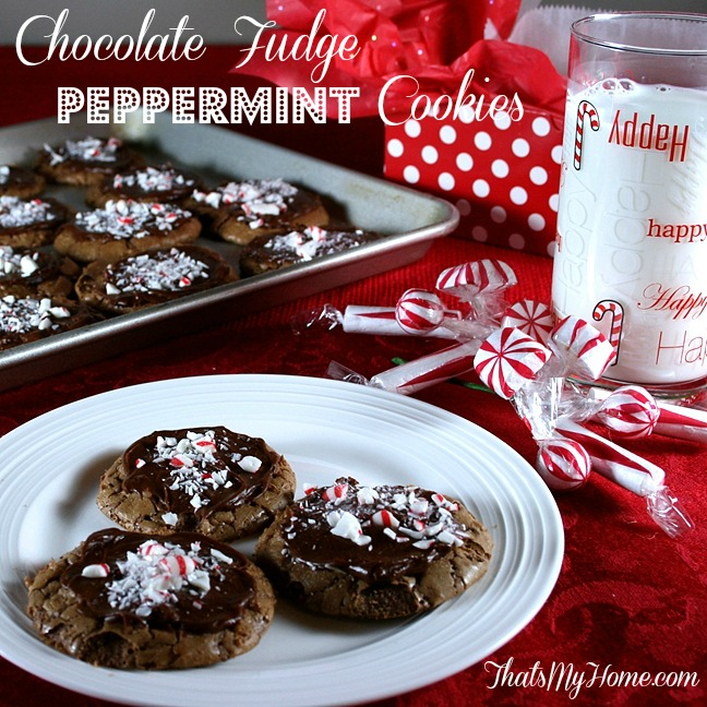 chocolate truffle cookies from recipesfoodandcooking.com