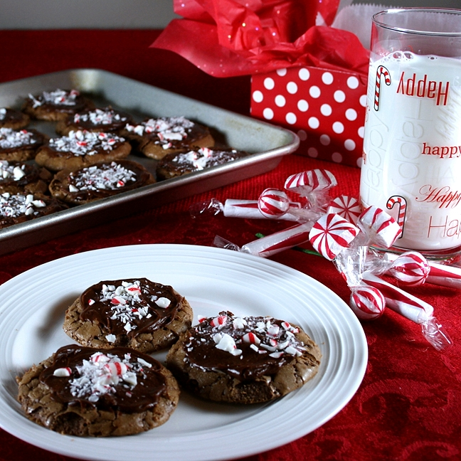 peppermint sticks christmas cookies from recipesfoodandcooking.com