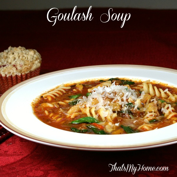 goulash soup from recipesfoodandcooking.com