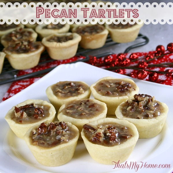 pecan tartlets from recipesfoodandcooking.com