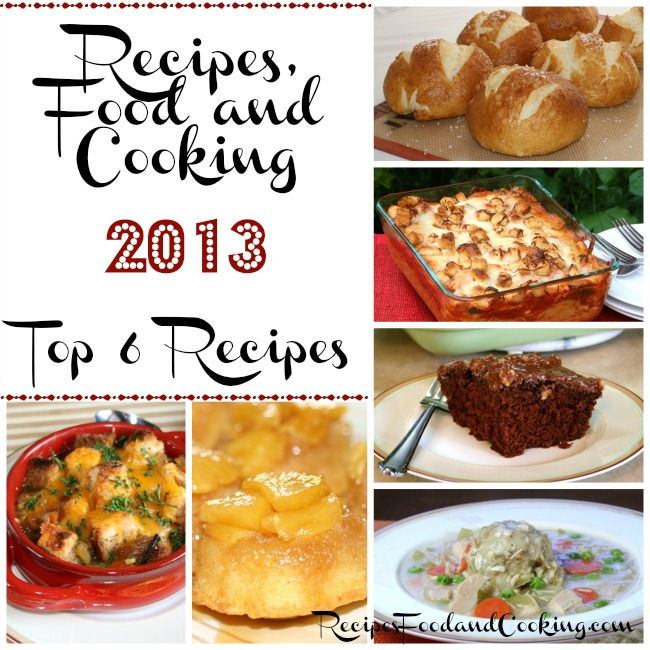 top 6 recipes from recipesfoodandcooking.com