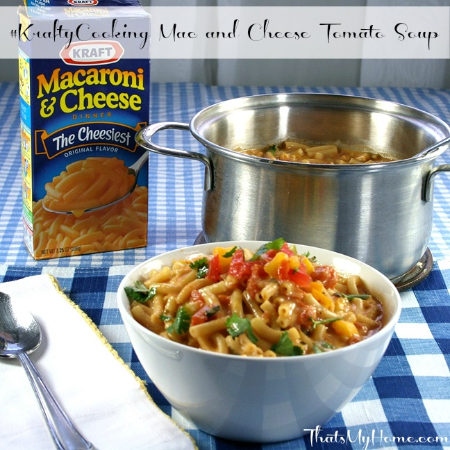 Mac and Cheese Tomato Soup from Recipes, Food and Cooking