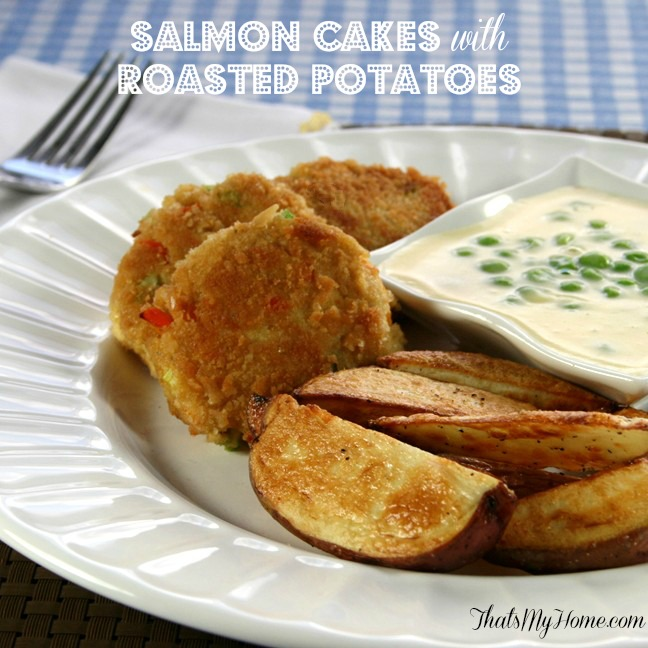 Salmon Cakes from Recipes, Food and Cooking.com