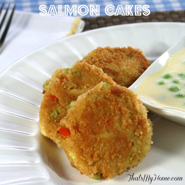Really Good And Easy Salmon Cakes Recipe