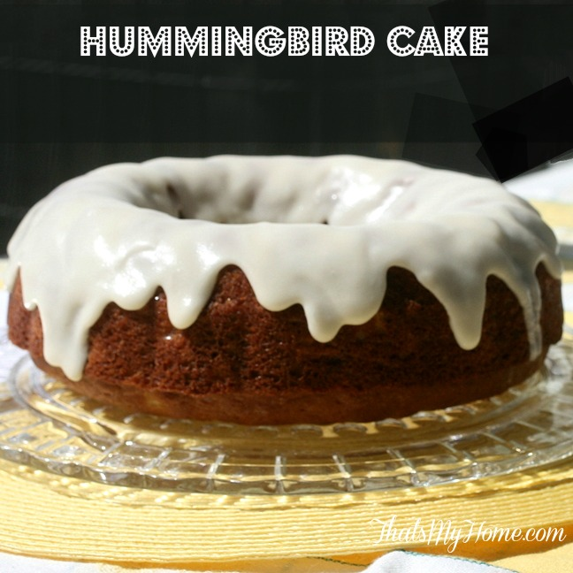 Aunt Fran's Hummingbird Cake from Recipes, Food and Cooking.com