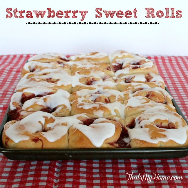 Strawberry Sweet Rolls from Recipes, Food and Cooking