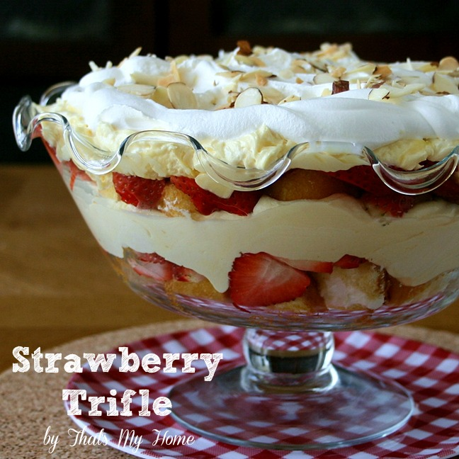 Strawberry Trifle Dessert from That's My Home # ...