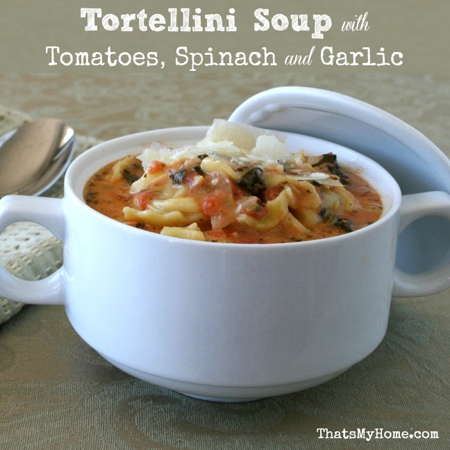 Spinach Tortellini Soup  from Recipes, Food and Cooking
