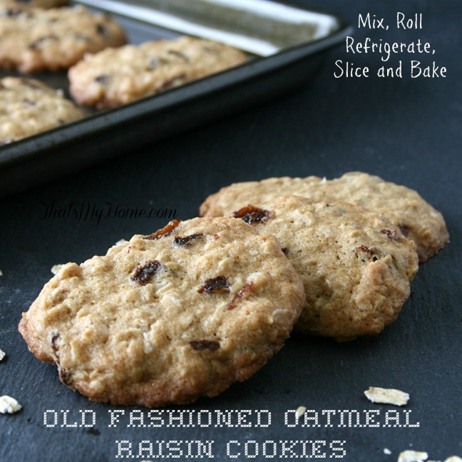 Old Fashioned Oatmeal Raisin Cookies from Recipes, Food and Cooking