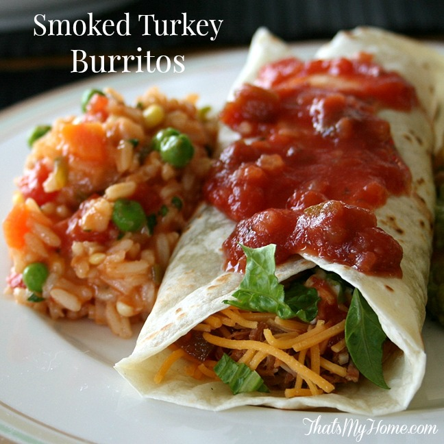 Smoked Turkey Burritos from Recipes, Food and Cooking