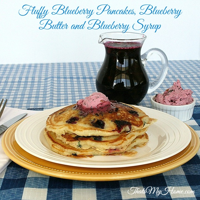 Blueberry Pancakes from Recipes, Food and Cooking