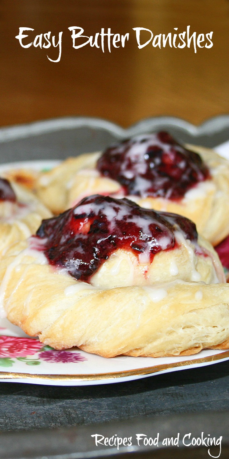 Easy Butter Danishes