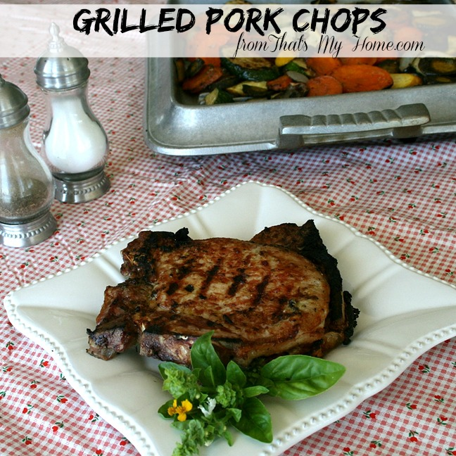 Grilled Pork Chops from Recipes, Food and Cooking