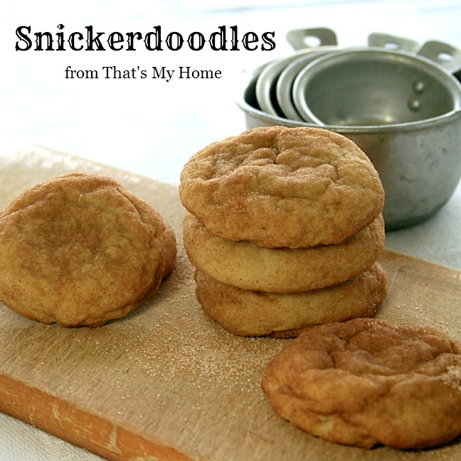 Snickerdoodles from That's My Home