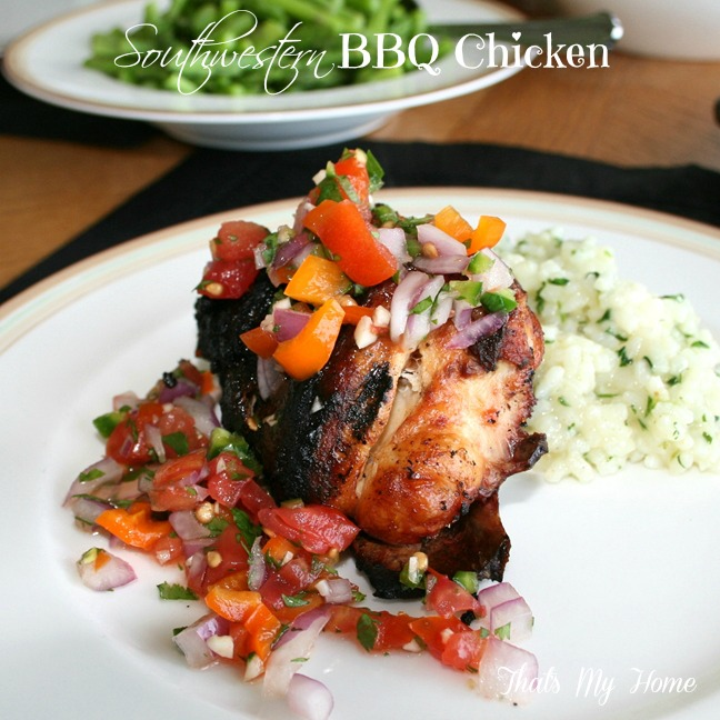Southwestern BBQ Chicken from Recipes Food and Cooking