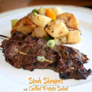 Sirloin Steak Skewers from Recipes Food and Cooking
