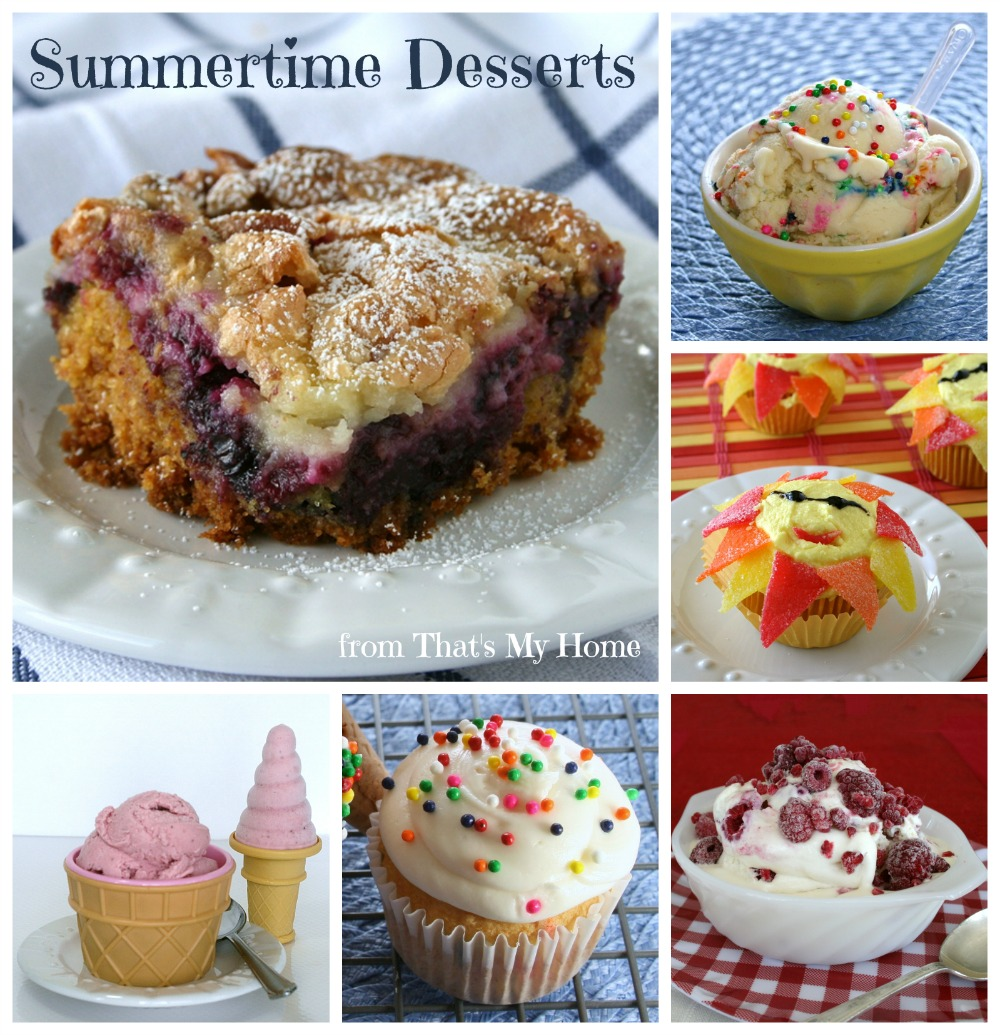 Summertime Desserts from That's My Home