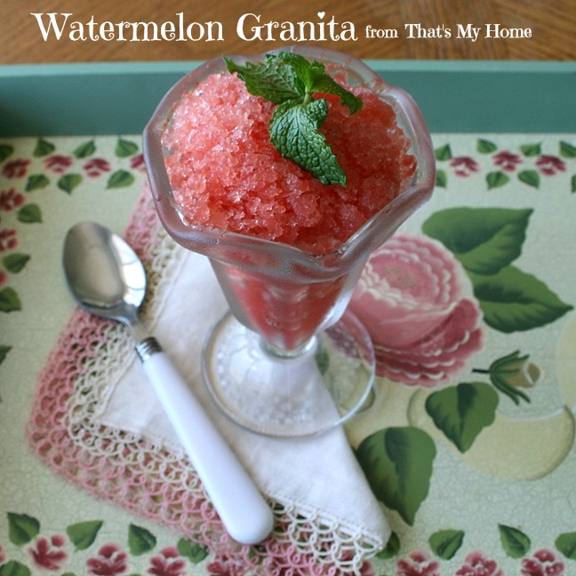 watermelon granita from recipes food and cooking
