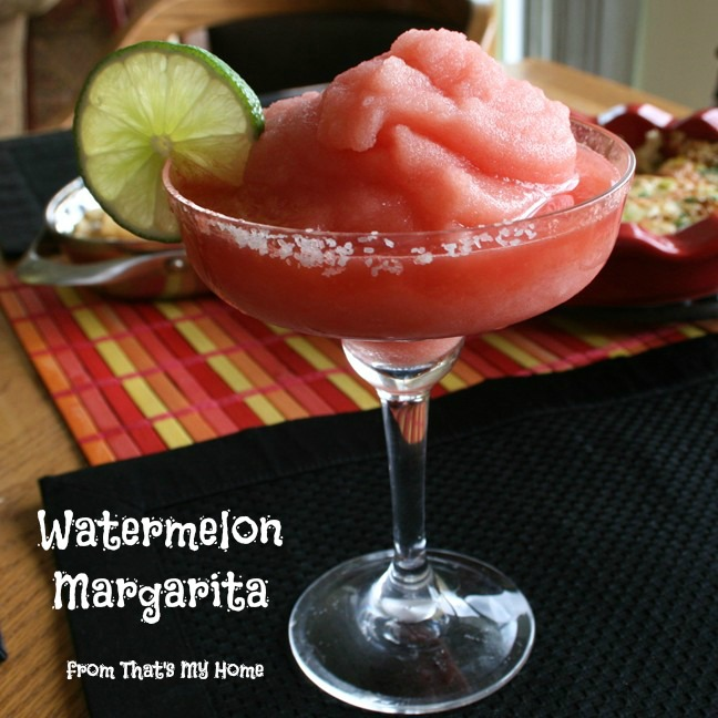 Watermelon Margaritas from That's My Home