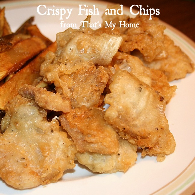 Crispy Fish and Chips from Recipes Food and Cooking