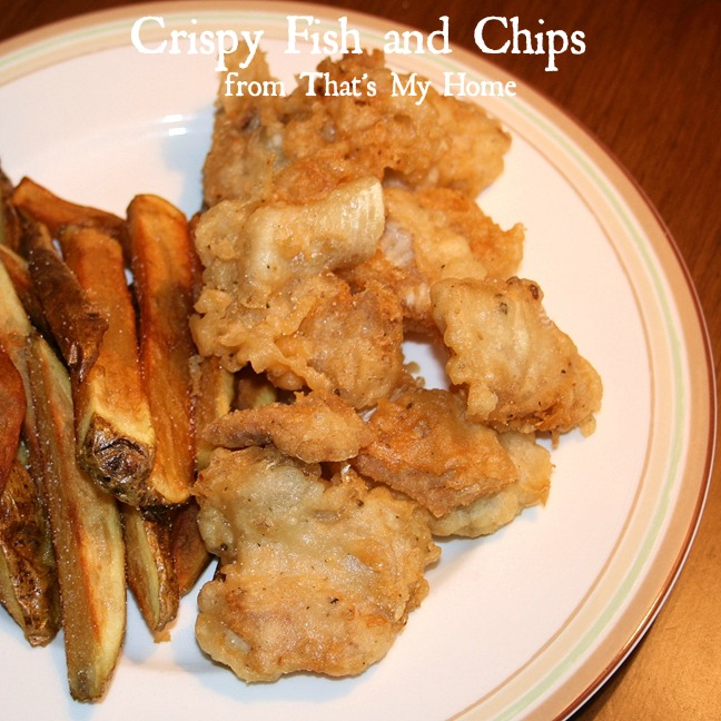 how to make crispy fish and chips batter