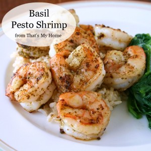 Pesto Shrimp from Recipes Food and Cooking