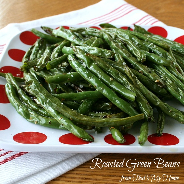 Roasted Green Beans at That's My Home